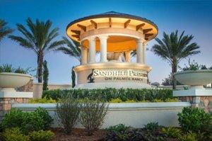 Sandhill Preserves Community Sign