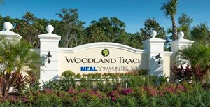 Woodland Trace Sign