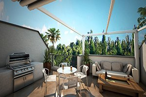 The Artisan Rooftop Terrace