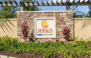 Villa Amalfi Community Entrance