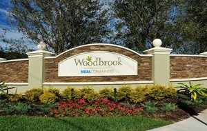 Woodbrook Community Entrance
