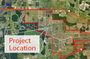 Parrish Lakes Development