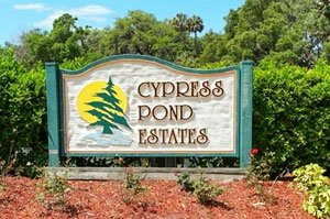 Cypress Pond Estates Homes for Sale