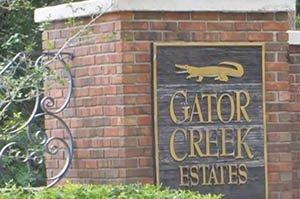 Gator Creek Estates Homes for Sale
